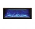 "Dimplex Optimyst Electric Fireplace Fresh Amantii Panorama 40"" Deep Electric Fire"
