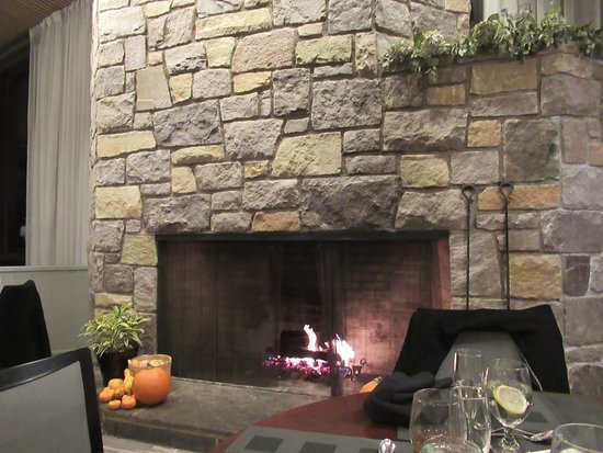 this fireplace is in