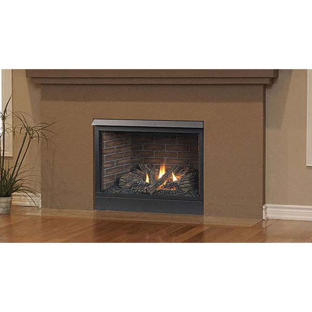 majestic patriot convertible direct vent fireplace 42 inch