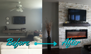 26 Inspirational Diy Electric Fireplace
