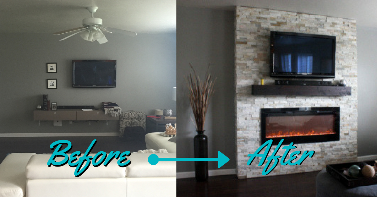 Diy Electric Fireplace Elegant Diy How to Build A Fireplace In One Weekend
