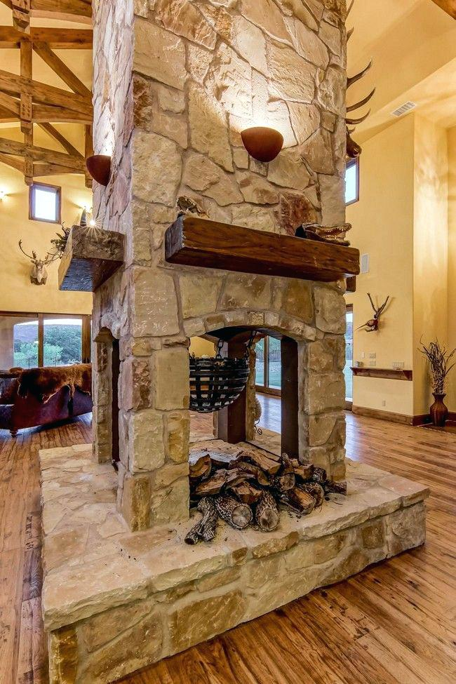 double sided fireplace four side transform your spacious space with a two outdoor plans