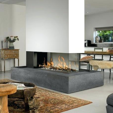 Double Sided Gas Fireplace Prices New Three Sided Gas Fireplace Image by Sea island Builders