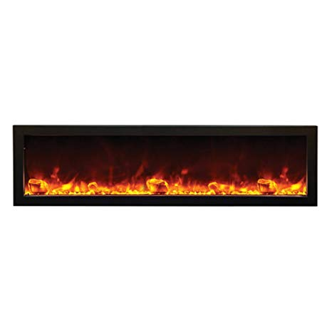 Electric Fireplace 60 Inch Best Of Amantii Bi 60 Slim Od Outdoor Panorama Series Slim Electric Fireplace 60 Inch
