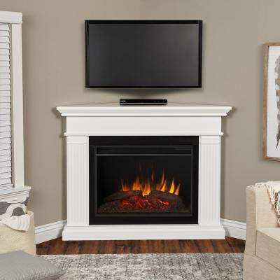 white real flame corner electric fireplaces 8050e w 64 400 pressed