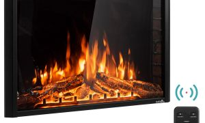 30 Luxury Electric Fireplace Insert with Heater