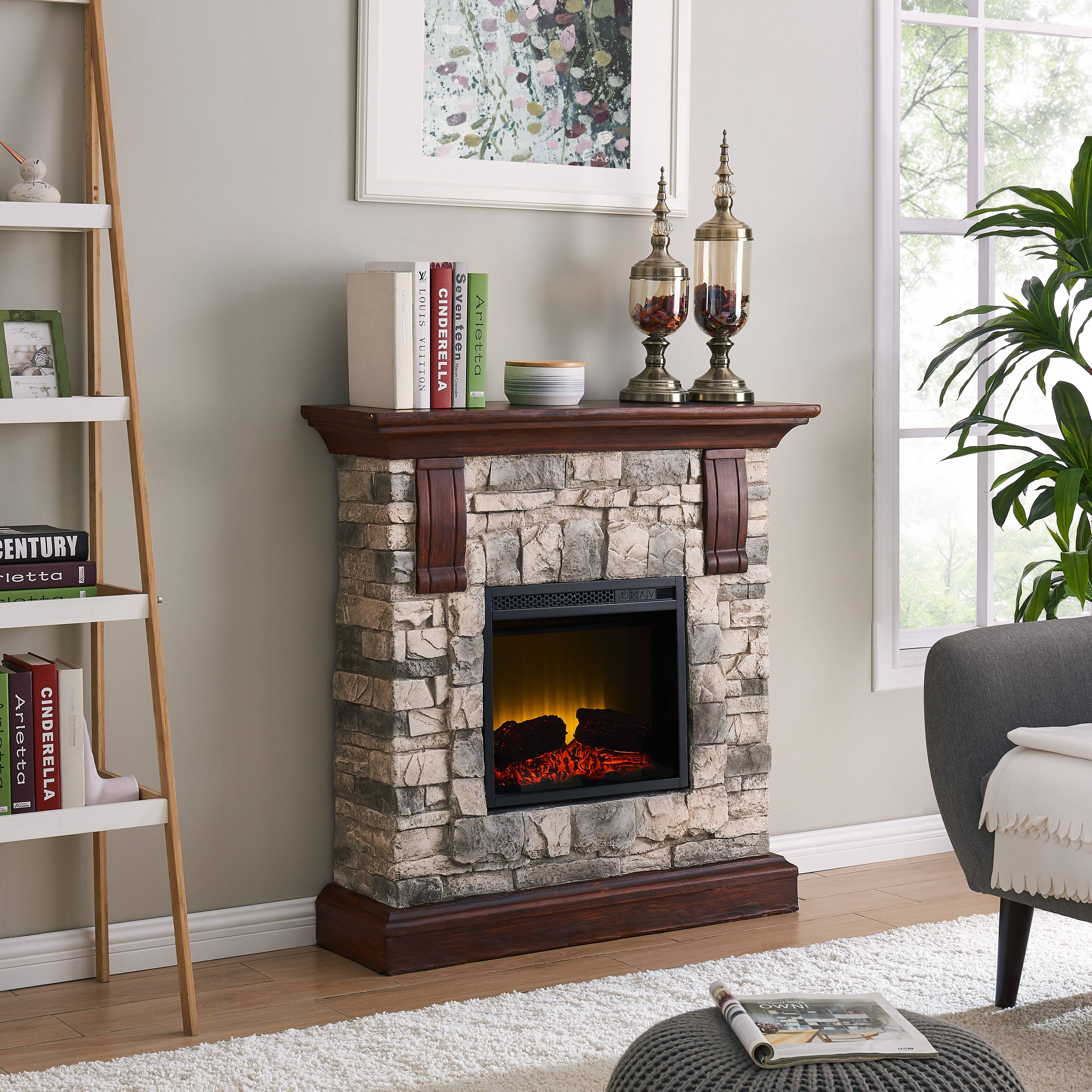 Electric Fireplace Insert with Heater Luxury 40 Inch Electric Fireplace Insert