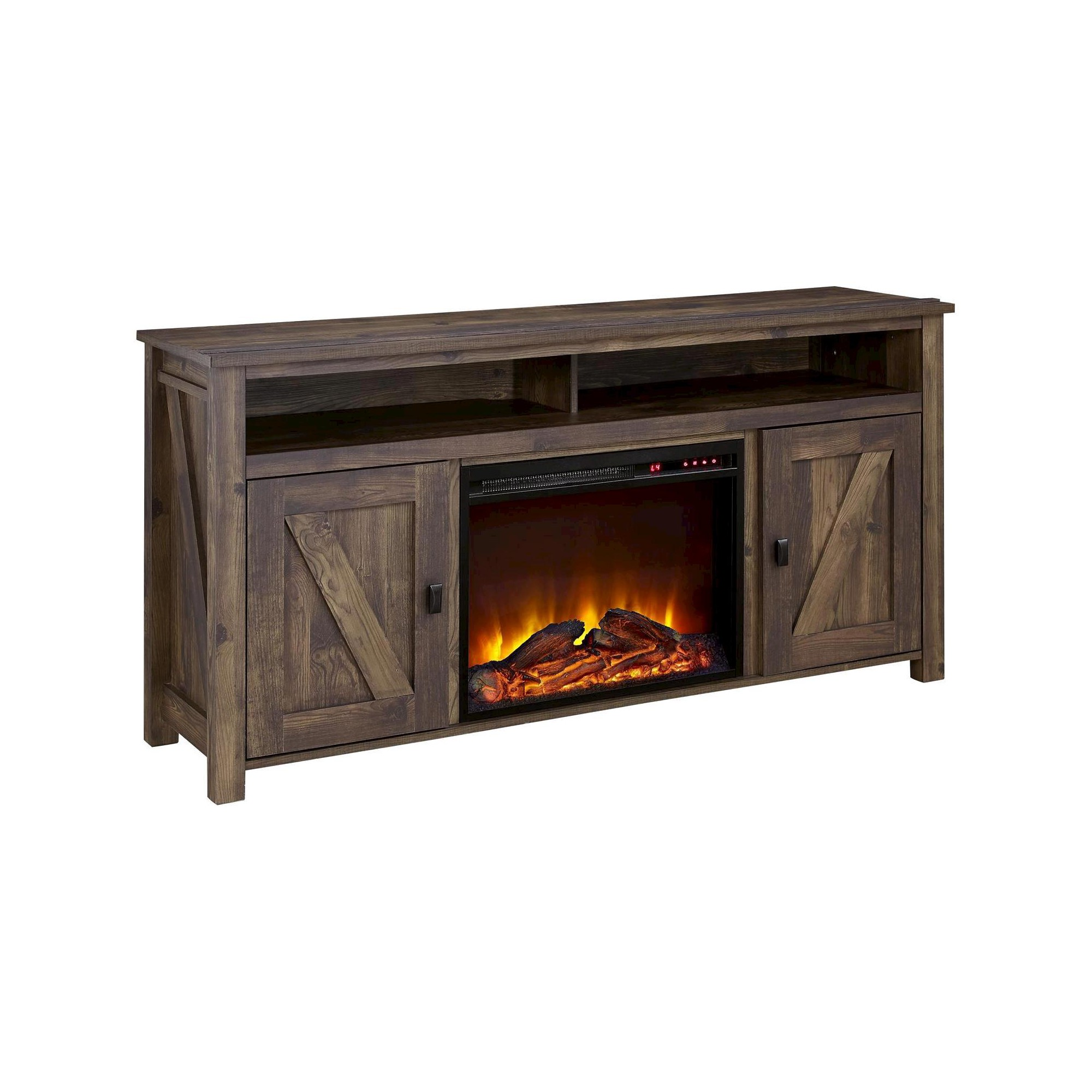 Electric Fireplace Insert with Heater New Brookside Electric Fireplace Tv Console for Tvs Up to 60