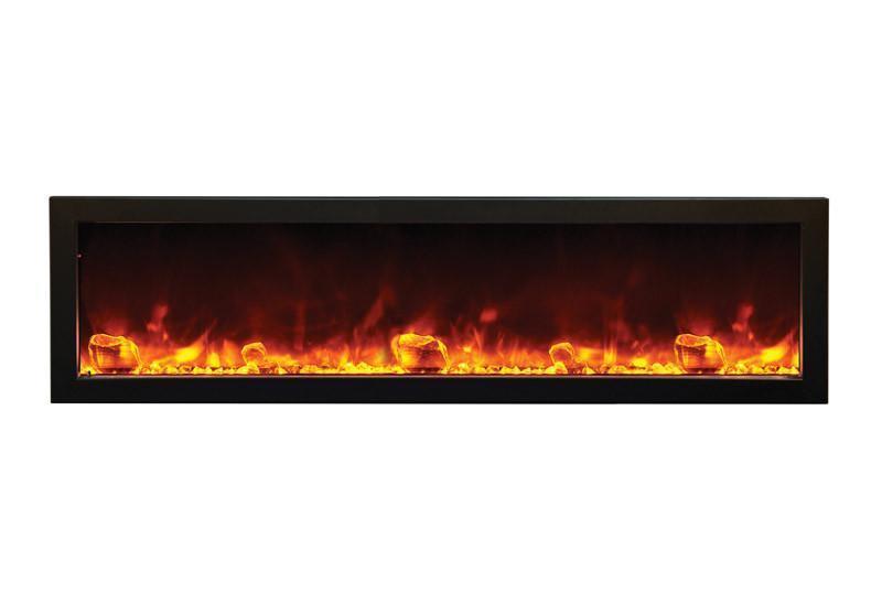 electric fireplace amantii panorama slim 50 outdoor built in electric fireplace w cover bi 50 slim od 3 2048x