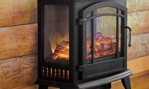 20 Lovely Electric Fireplace with Shelves