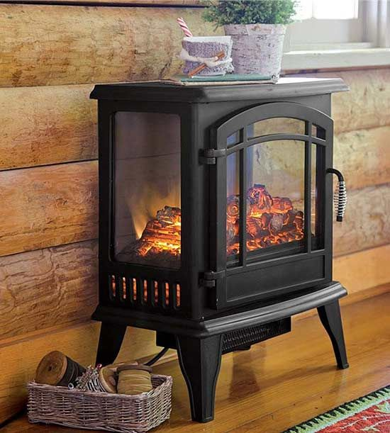 Electric Freestanding Fireplace Unique Instant Ambience Cozy Up with these Electric Fireplaces
