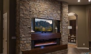 30 Inspirational Entertainment Wall with Fireplace