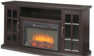 25 New Espresso Fireplace Tv Stand