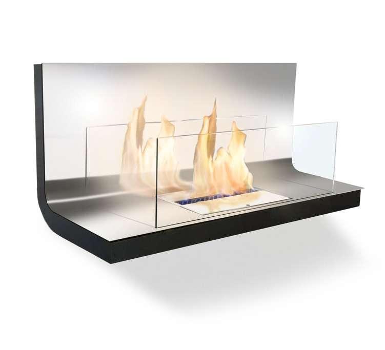 rd 1001 wa schwarzedelstahl 01 radius design wall flame 1 ethanol kamin schwarz edelstahl 3 2