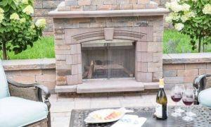 23 Elegant Exterior Fireplace
