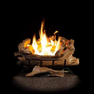 emberglow vented gas fireplace logs aevf24falp 64 400 pressed