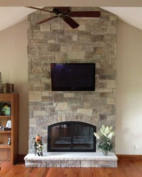 Fake Stone Fireplace Lovely Fireplace Stone Veneer by north Star Stone In Cobble