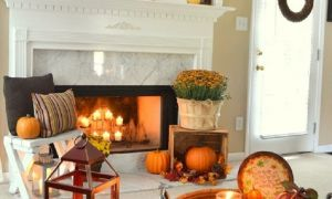 12 Beautiful Fall Fireplace Decor