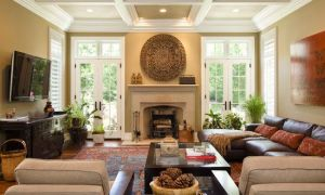 15 Lovely Family Room with Fireplace and Tv Layout