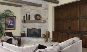 10 Fresh Family Room with Fireplace