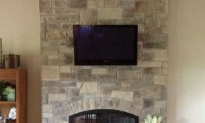 12 Lovely Faux Stone Fireplace Surround