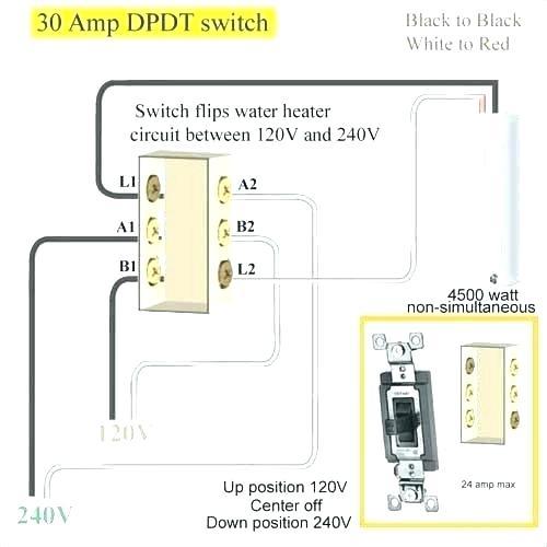 2 pole switch wiring diagram forward dual double