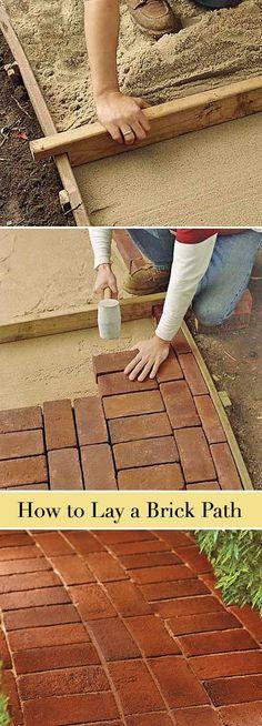 dfa3b621a6daef5746a803ab3a5d723e brick laying diy laying pavers