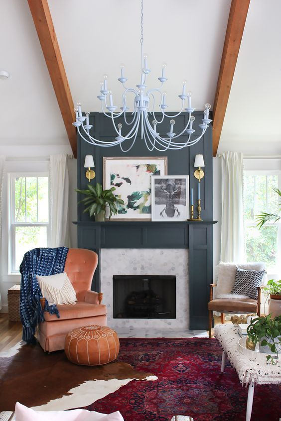Fireplace Artwork Awesome when Styling A Mantle Hurd & Honey Blog