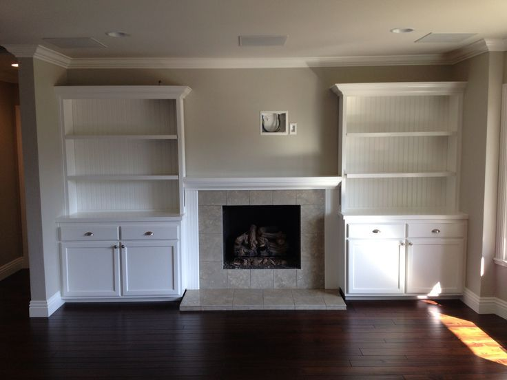 Fireplace Built In Cabinets Beautiful Built In Shelves Around Fireplace