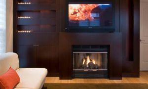 14 New Fireplace Designs with Tv Above