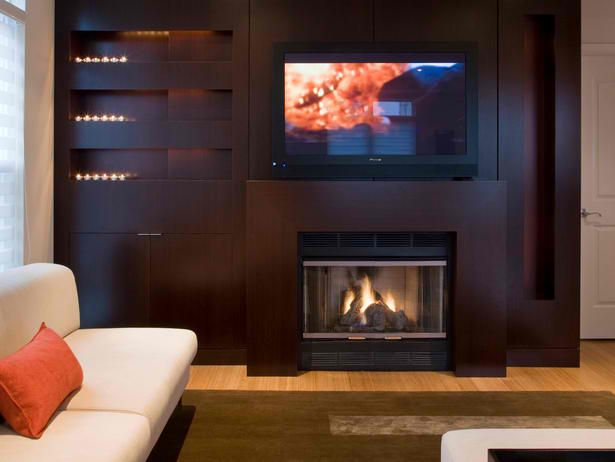 Fireplace Designs with Tv Above New 20 Amazing Tv Fireplace Design Ideas
