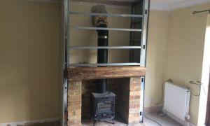 10 Best Of Fireplace Door Installation