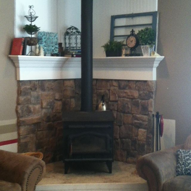 Fireplace Facade Ideas Best Of I Have A Fireplace Just Like This Hard to Decorate A