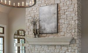 23 Lovely Fireplace Facing Stone