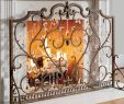 Fireplace Glass Beads Elegant Louviere Fireplace Screen In 2019