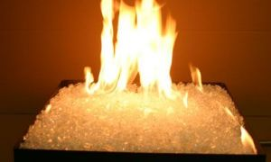 25 Lovely Fireplace Glass Crystals
