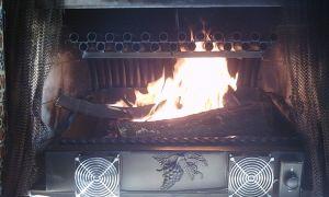 22 Beautiful Fireplace Grate Heater