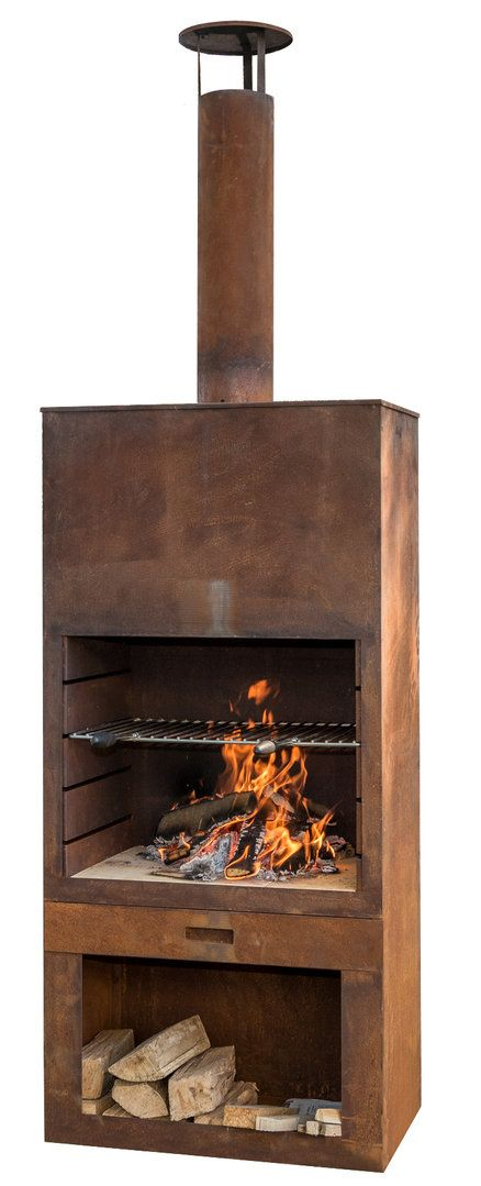 Fireplace Grills and More Lovely Gartenkamin Tube