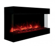 "Fireplace Hearth Code Inspirational Amantii Tru View 40"" Indoor Outdoor 3 Sided Electric"
