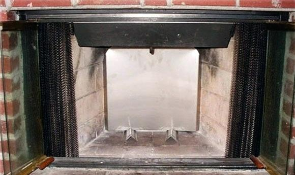 fireplace heat reflector st