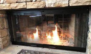15 Elegant Fireplace Insert Doors