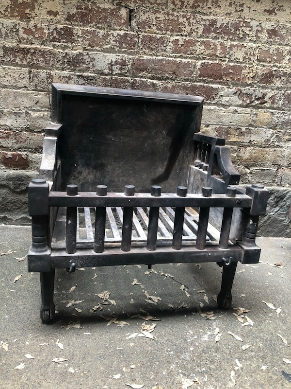 Fireplace Iron Grate New Antique Cast Iron Fireplace Grate Box