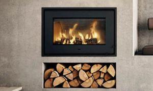 14 Beautiful Fireplace Log Inserts