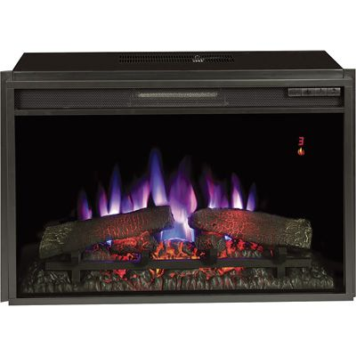 Fireplace Logs Electric Luxury Chimney Free Spectrafire Plus Electric Fireplace Insert