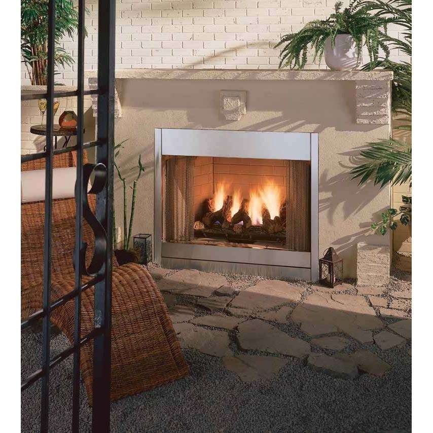 outdoor fireplace gas logs new gasfireplaces luxury majestic odgsr42a al fresco 42 outdoor radiant of outdoor fireplace gas logs