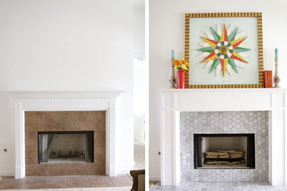 1 refreshing fireplace makeover handmade 59f235db22fa3a a2fbd