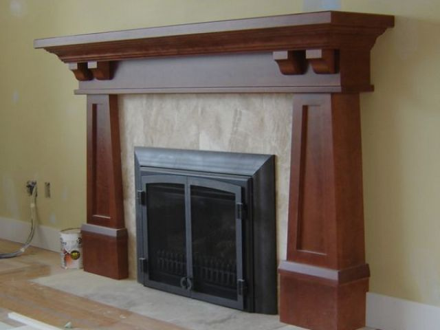 fireplace surround awesome arts and crafts mantels of fireplace surround