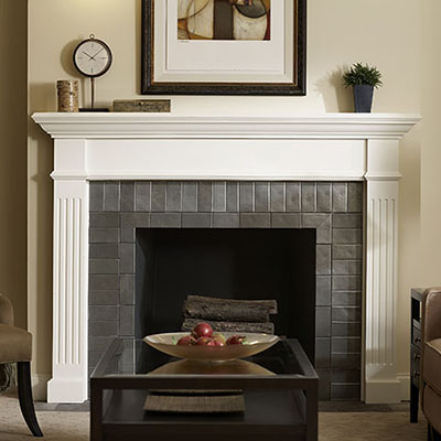 how to choose a fireplace and mantel hero