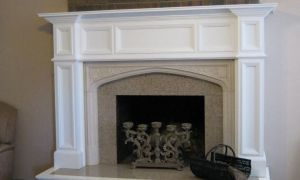 25 Lovely Fireplace Mantel Dimensions