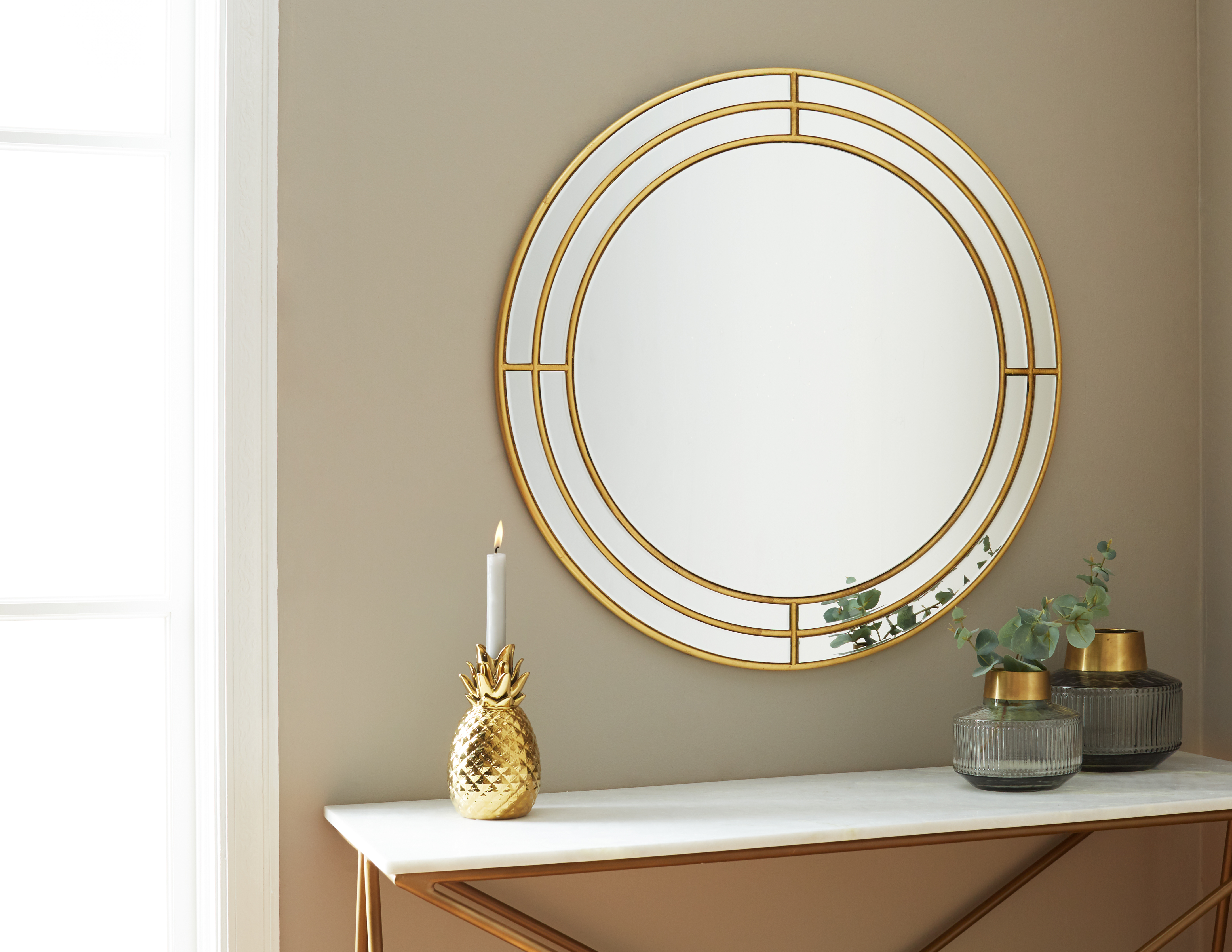 Fireplace Mantel Mirror Luxury Gladys Gold Mirror 80cm 31 Products In 2019